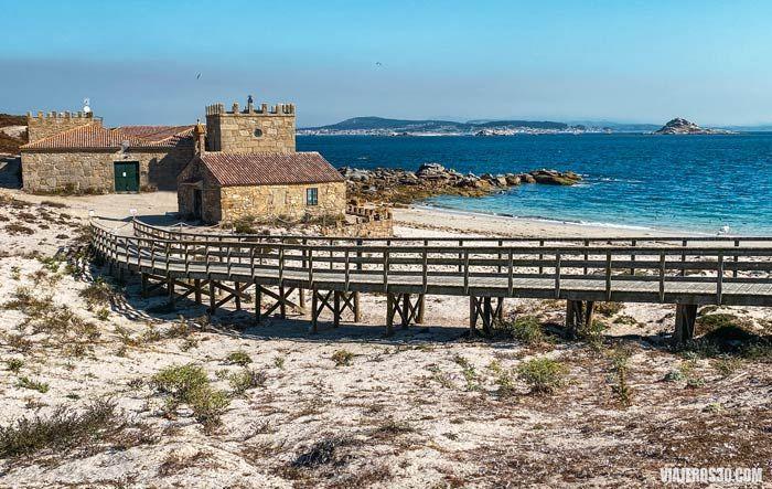visitar la isla de Sálvora en Galicia.