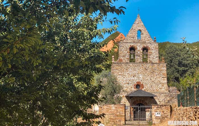 Pueblo de las Médulas en León.