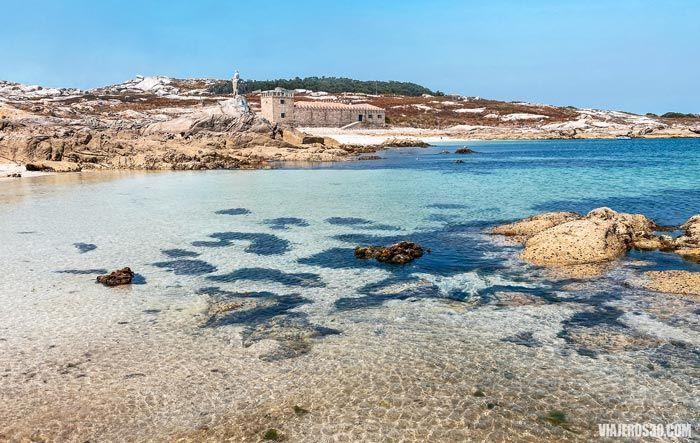 Imagen de la isla de Sálvora en A Coruña, Galicia