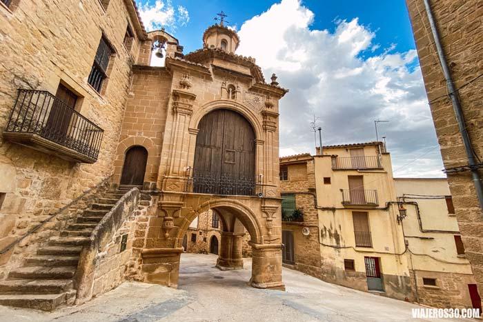 Centro histórico de Calaceite, Matarraña, Teruel