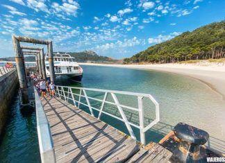Cómo llegar a las islas Cíes en barco, Galicia