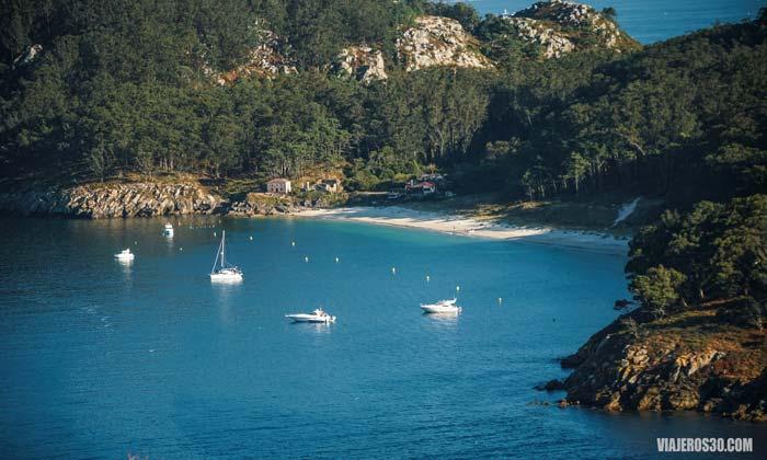 Isla de San Martiño, Islas Cíes, Galicia