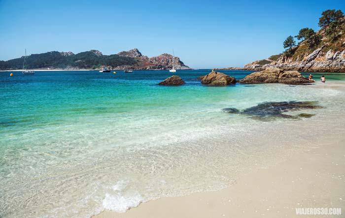 Playa de Nosa Señora en Islas Cíes.