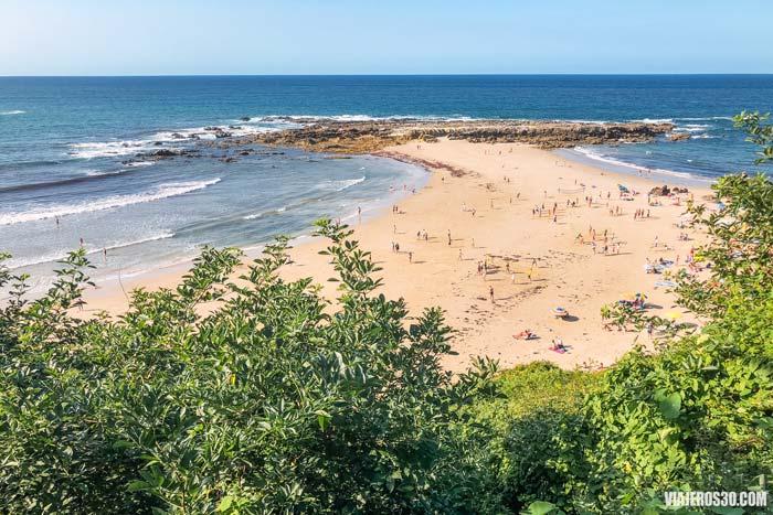 Playa de Amio, las playas más bonitas de Cantabria