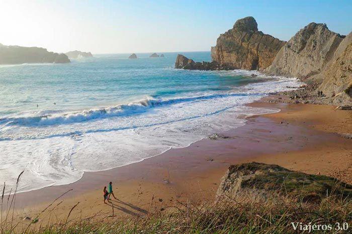 Playa de Portio, mejores playas de Cantabria