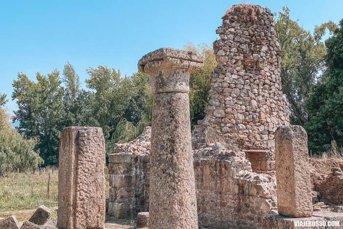 Ciudad romana de Ammaia.