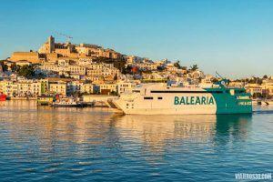 cómo ir de Ibiza a Formentera en barco