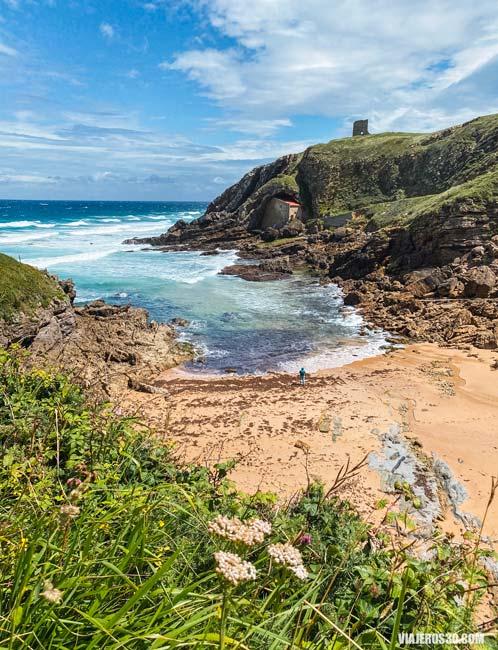 Playas de Cantabria, playa de Santa Justa