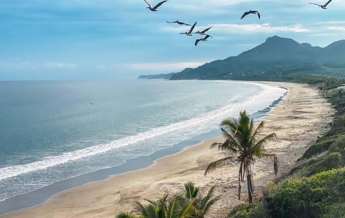 Playas de Riviera Nayarit.
