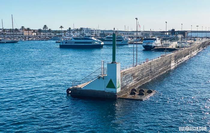 Puerto de la Savina en Formentera