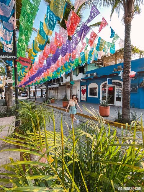 Ambiente en Sayulita, Riviera Nayarit, México