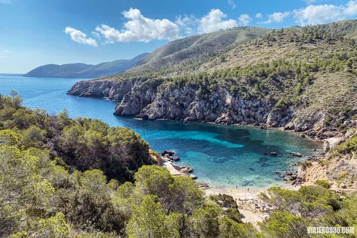 Cala D'En Serra, playas de Ibiza