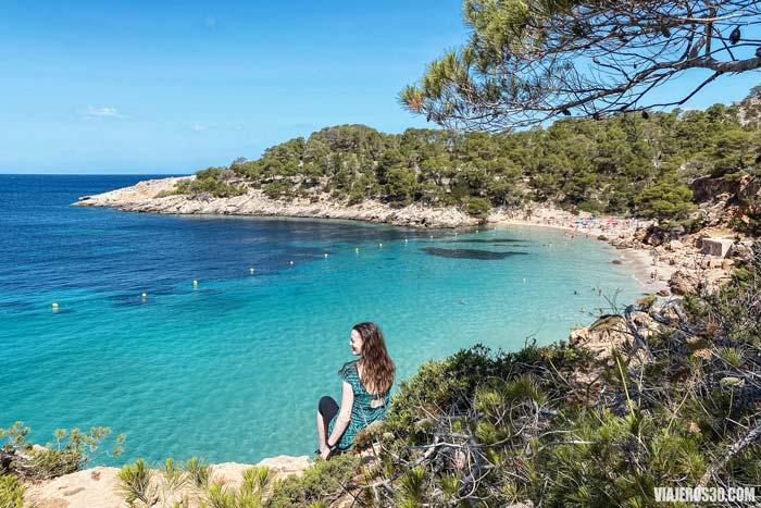 Cala Saladeta, las mejores playas de Ibiza.