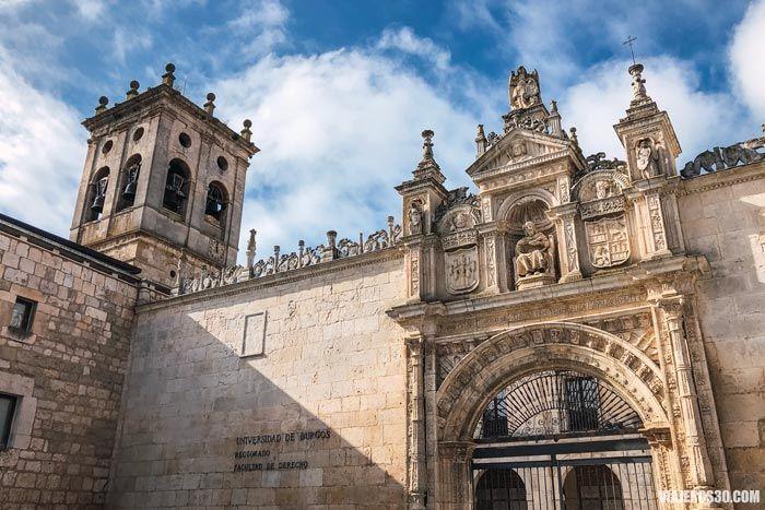 Hospital del Rey, Camino de Santiago a su paso por Burgos