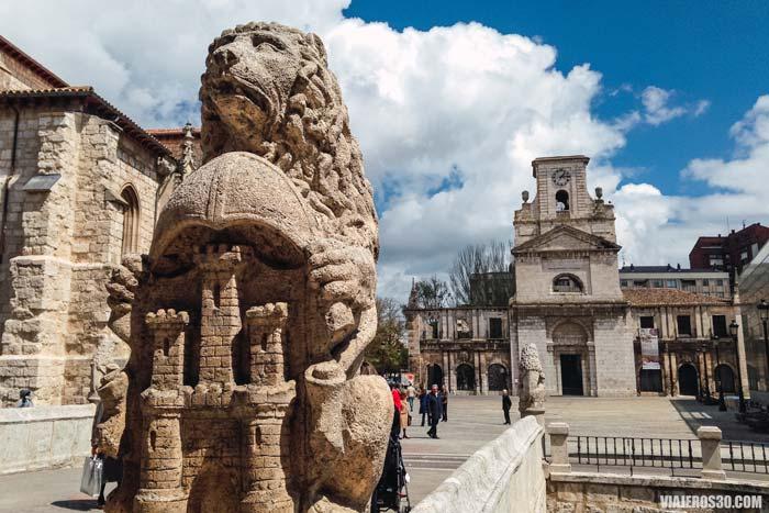 Plaza de San Juan, Camino de Santiago en Burgos