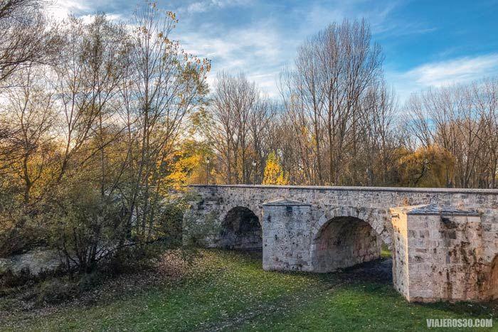 Puente de Malatos, Camino de Santiago en Burgos