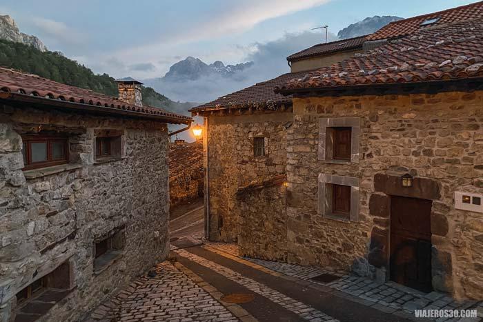 Sotres en Picos de Europa de Asturias