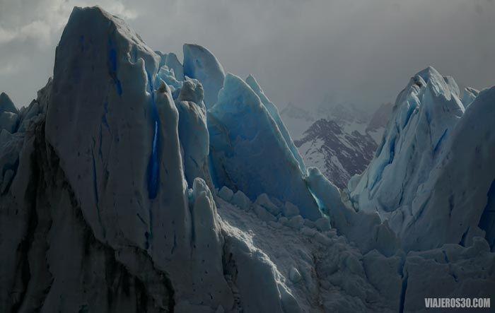 Detalle del Glaciar Perito Moreno.