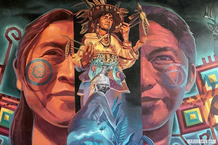 Murales sobre la cultura mexicana